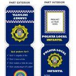 Nules crea un carné de Policía Local Infantil para recordar las normas de las salidas a los más pequeños