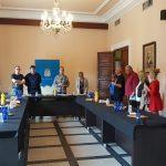 Una delegación de Nyons visita Nules para preparar el 20 aniversario del hermanamiento