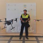 Nules adquiere dos drones para la unidad de drones de la Policía Local