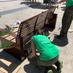 Nules millora el mobiliari urbà amb el programa Et Formem