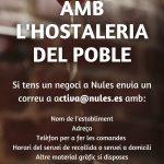 Nules se sumará al Pla Resisteix de la Generalitat Valenciana para ayudar a los sectores más afectados por la Covid-19