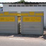 Nules instala nuevos contenedores en la zona marítima