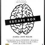 Nules prepara un escape box  para los jóvenes del municipio
