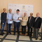 Nules es la primera población en recibir un reconocimiento de la Federación Valenciana de Filatelia