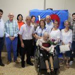 Reconocimiento a Irene Celades por su 100 aniversario