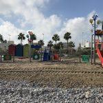 La playa con Bandera Azul les Marines tiene nuevos juegos infantiles