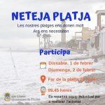 Nules promueve unas jornadas de voluntariado para limpiar la playa