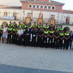 Nules homenajea al inspector jefe de la Policia Local en el dia de la celebración de su patrón